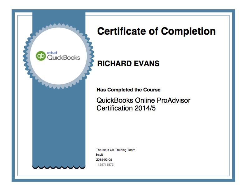 Quickbooks Online Pro Advisor Tbs Norwich Limited